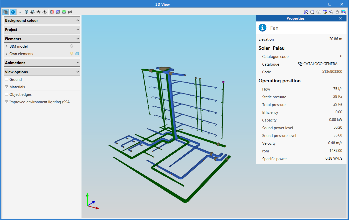 EasyDuct. Open BIM workflow